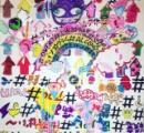 【画像】 AKB高橋朱里さんの描いた絵が精神崩壊してるようでヤバイと話題