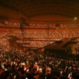 『この景色凄いな・・・SKE48のナゴヤドームでのライブの様子がこちら・・・』の画像