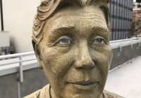 サンフランシスコの慰安婦像が無残な姿にwwwwwww 嫌われすぎだろwwwww