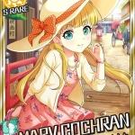 【モバマス】碧眼の姫君3STEPチャンスガチャSRはメアリー・コクラン!Rは西川保奈美!