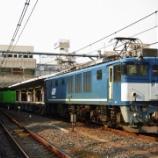 『残り1機となったEF64広島更新色』の画像