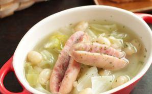 パックの豆を活用した煮込みスープ