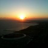 『幕張の夕日、UFO』の画像