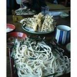 『舞茸天ぷらと年越しそば』の画像