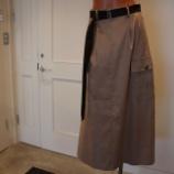 『DUAL VIEW(デュアルヴュー)リネン混カーゴスカート』の画像