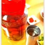 『梅酒の梅の利用方法』の画像