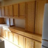 『高松市に土井木工のフルオーダースタイルのワイドが3200ミリの食器棚を納品』の画像
