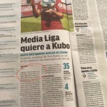 スペイン紙「MARCA」が久保建英の移籍特集記事! 最初に触れたのはオサスナ…