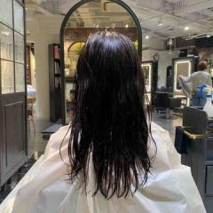 表参道 神宮前 東京都内で美髪パーマが得意な美容室ミンクス原宿 須永健次 ミディアムレングスに大人パーマを いつもよりカットする時はパーマがオススメです!