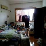 『中国出張時に宿泊するアパートの部屋のお片づけ!』の画像