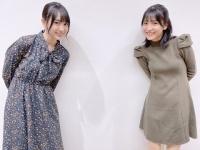【乃木坂46】最新の賀喜と早川、可愛すぎる!!!!!