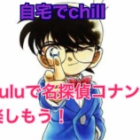 『【名探偵コナン】huluに登録してTVアニメ、劇場版名探偵コナンを全部観尽くす!』の画像