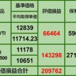 『【10月の買い増し状況】10月29日 iDeCo、投信評価損益』の画像