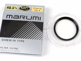 「MARUMI クローズアップレンズ MC+4」をレビュー