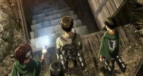 【進撃の巨人】第56話 感想 ついに来たぞ地下室!【3期】