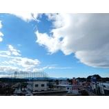 『台風一過』の画像