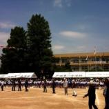 『明日は戸田市立戸田第一小学校運動会(午前8時50分開会)』の画像