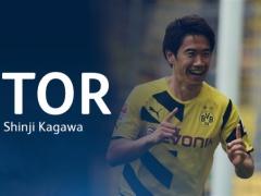 【速報動画】ドルトムント香川、オッド戦でゴール!ダイレクトボレー!