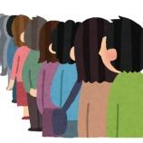 『ワイが夜10時から箱マスク目当てにドラッグストアに並んだ結果www』の画像