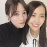 『馴染み方が半端ない!欅坂46齋藤冬優花のブログに2期生の松田里奈が登場!』の画像