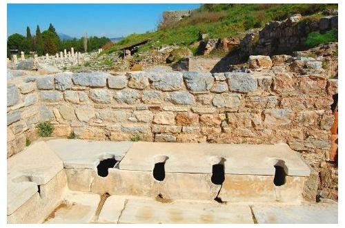 【画像あり】彡(゚)(゚)で学ぶ古代ローマのトイレwwwwwwwwwwwwwwwwwのサムネイル画像