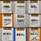 『『日本レコード大賞』リハ後に出演者がサインをする中、欅坂46だけ何も無し・・・』の画像