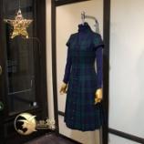 『店頭用新作ボックスプリーツドレス完成。』の画像