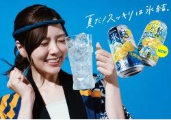 【朗報?】来年のビール系CMに白石×真夏×中田×新内が起用らしいぞ・・・!?