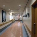 岡山旭東病院のステンドグラス
