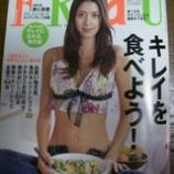 『雑誌FRaUに掲載していただきました』の画像