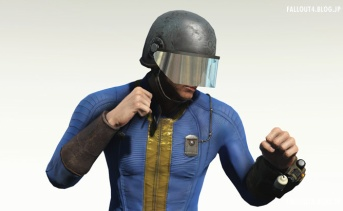 アニメーションするセキュリティヘルメット