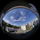 『魚眼レンズLAOWA4mmF2.8による龍の雲 2019/10/05』の画像