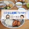 【ごはん記録5/18~】イメージを覆された…!人気の「唐揚げ」を作ってみた!