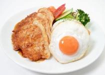 鶏肉→唐揚げ 牛肉→ステーキ 豚肉→???