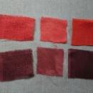 インド茜の色