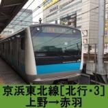 『京浜東北線 車窓[北行・3]上野→赤羽』の画像