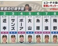 【阪神】片岡篤史の開幕戦打順予想!!!!!!