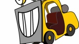 【悲報】新人、リフトの練習中に社長の愛車を破壊する