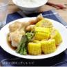 スイートコーンと手羽先のしっとり煮物 #とうもろこしの煮物レシピ