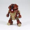 LEGOで小さめにアッガイを作ってみました。