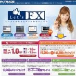 『【FXトレードフィナンシャル】のBOで最大5000円のキャッシュバック!』の画像