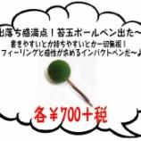 『ハハハハハ…苔玉&サボテンボールペンがオモロカワイくてギフトにいかがかなぁ~と。』の画像