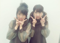 【AKB48】柏木由紀と木﨑ゆりあの私服が丸かぶりwww