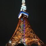 『東京近郊旅行記6 初めての東京タワー、夜景よりプロジェクションマッピングの方が凄かった』の画像
