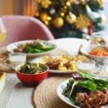 『おうちクリスマスメニューとテーブルコーティネート』の画像