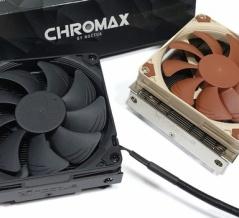 「Noctua NH-L9i chromax.black」をレビュー。3950Xを運用できるか!?