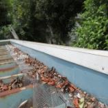 『菰野町で車庫の屋根工事がスタート』の画像