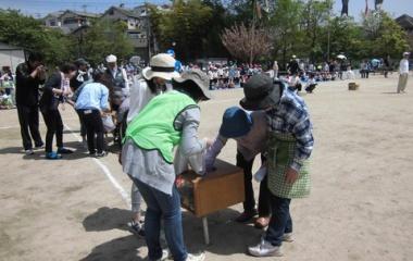 『第48回 春日丘八幡宮春季大祭 体育祭参加』の画像