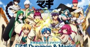 【マギ】スマホ用RPGアプリ「マギ Dungeon & Magic」配信開始!