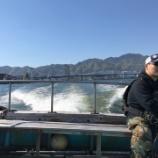 『神戸港沖堤バチ抜けパターン開幕戦。』の画像